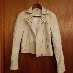 ⚃ Charlotte Russe faux leather biker jacket